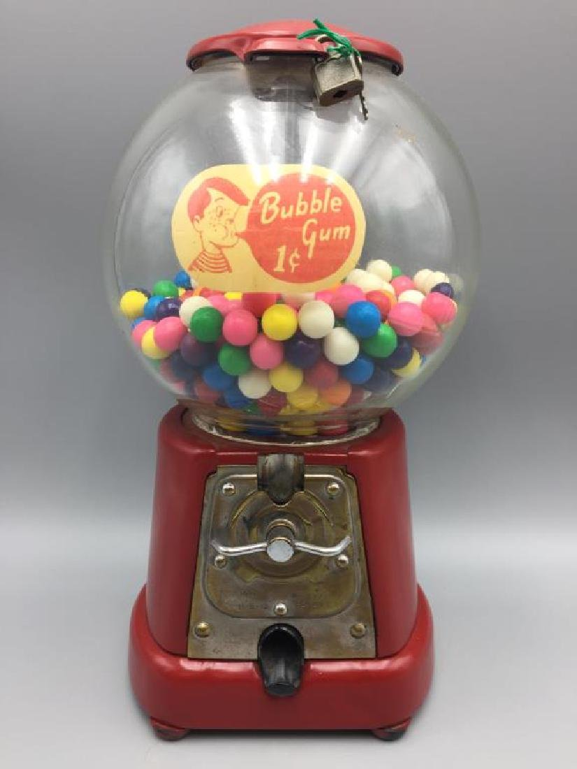 1920s gum ball machine