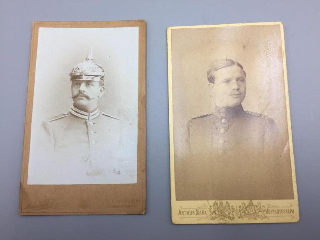 Imperial Germany soldier cabinet cards and family - 2