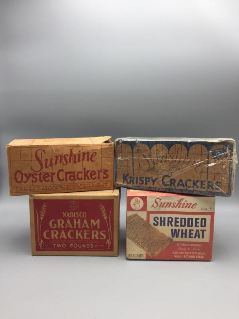 Sunshine Nabisco cracker boxes