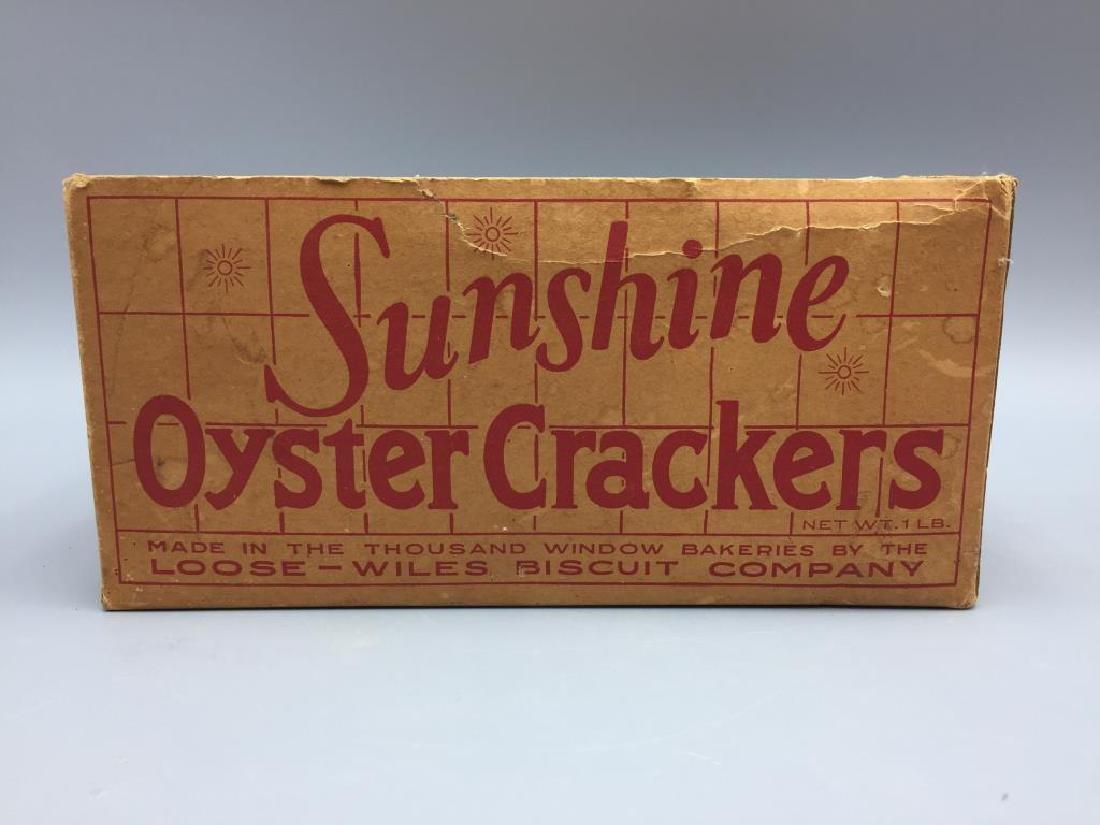 Sunshine Nabisco cracker boxes - 6