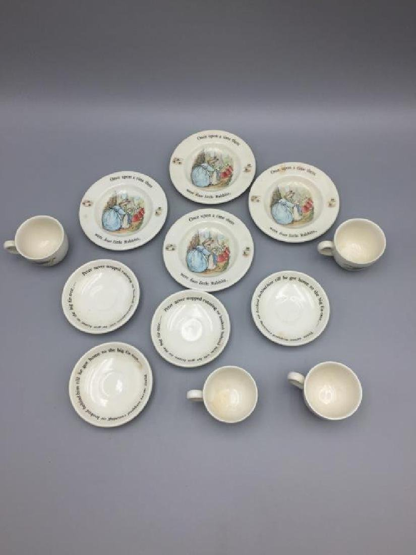 Wedgwood Peter Rabbit cup and saucer lot