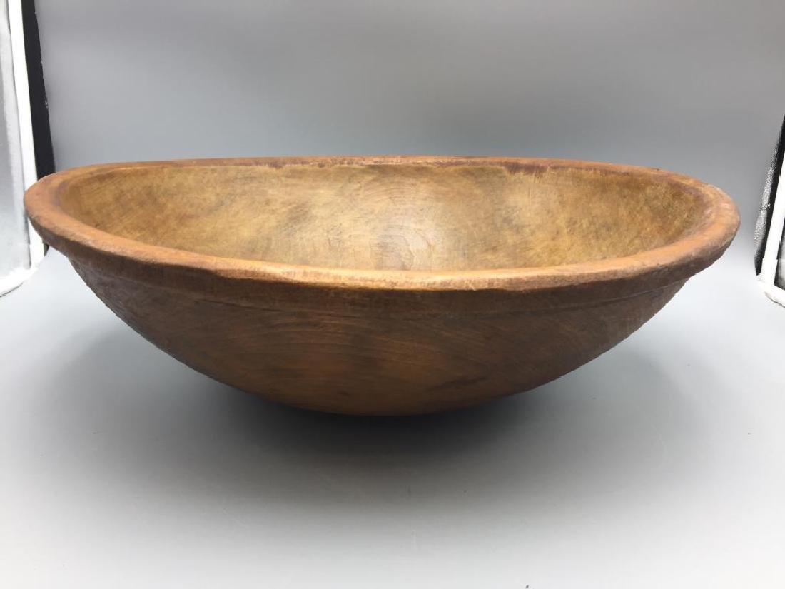 Large Treen ware bowl
