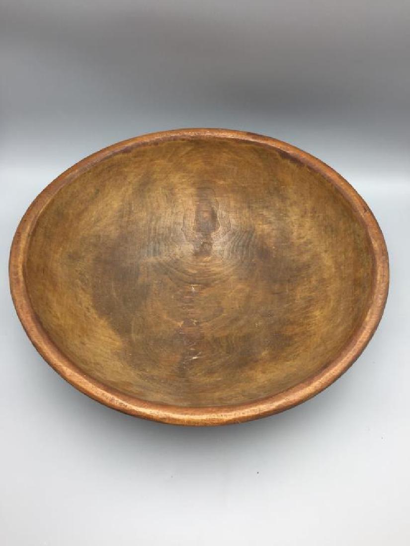 Large Treen ware bowl - 2