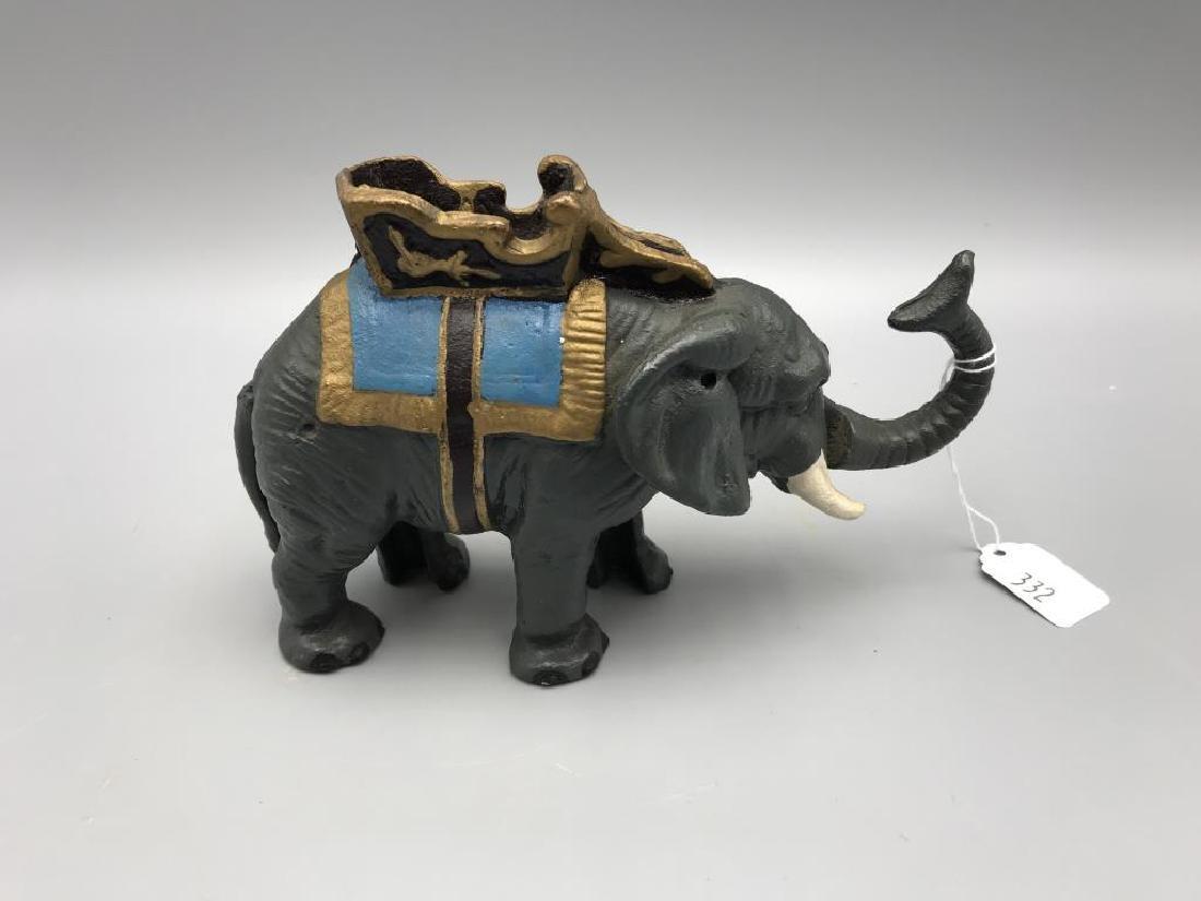 Mechanical elephant bank - 2