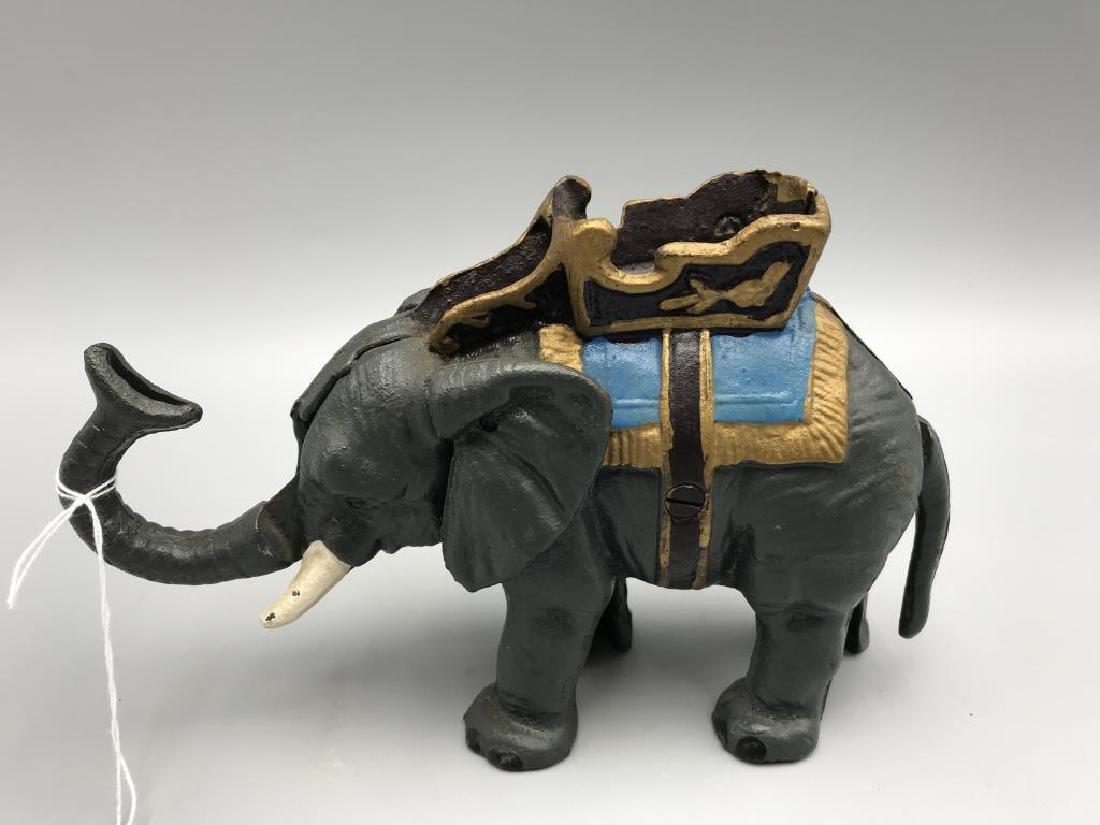 Mechanical elephant bank - 3