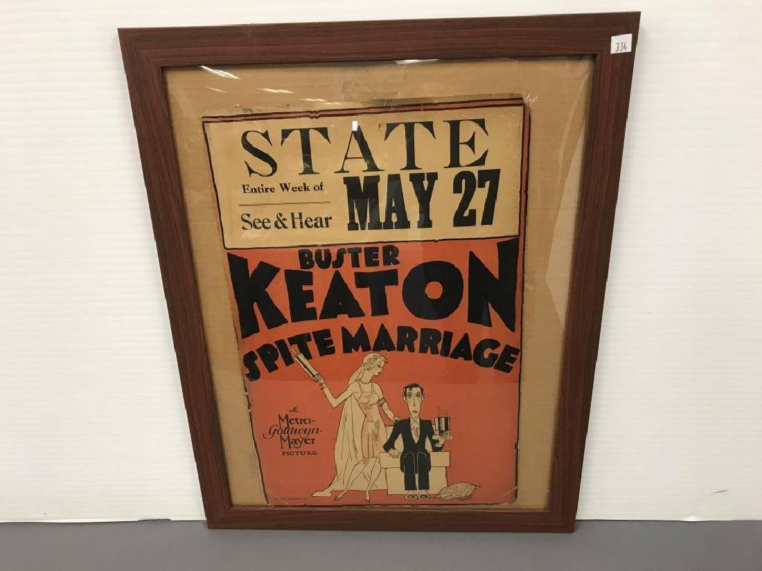 Poster Buster Keaton, Sprite Marriage