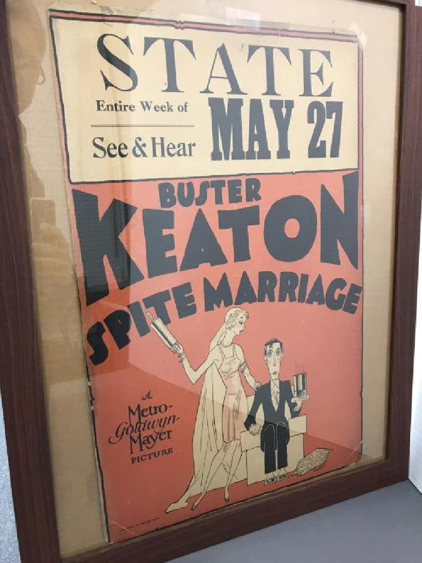 Poster Buster Keaton, Sprite Marriage - 2