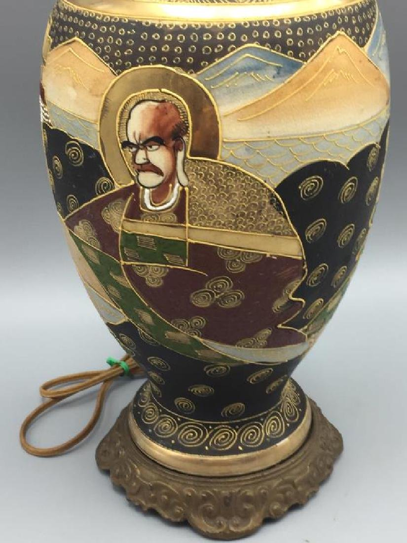 Satsuma vase lamp - 3