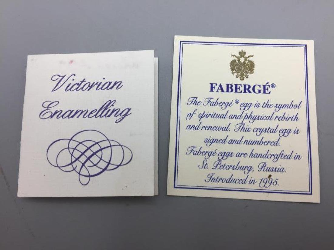 Boxed Nyco Faberge egg - 5
