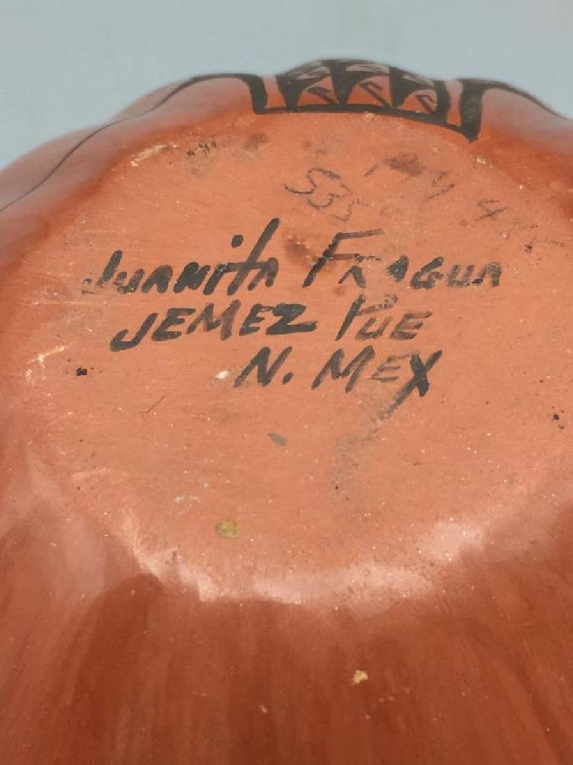 Juanita Fragua Jemez Puebla Pottery Bowl - 4