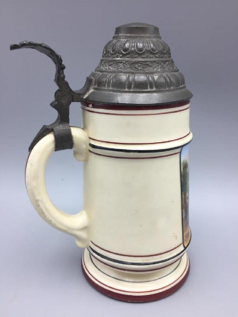 German Lithopane beer stein - 3