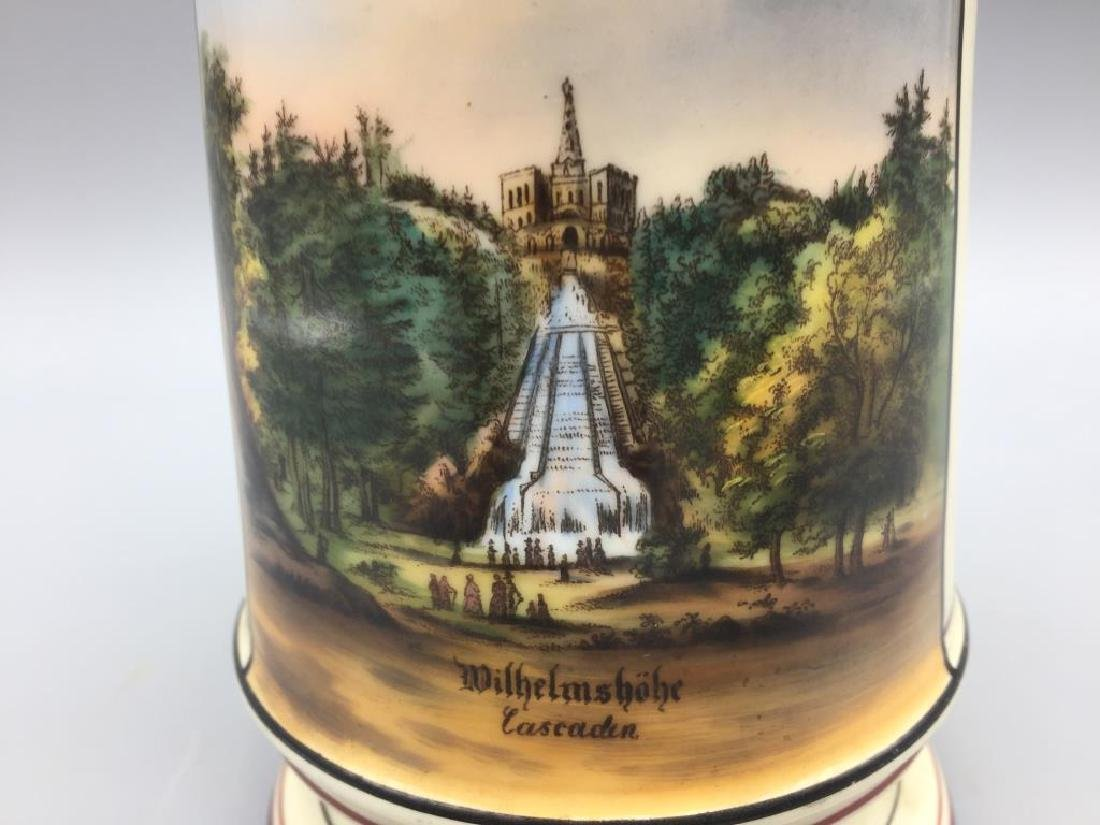 German Lithopane beer stein - 4
