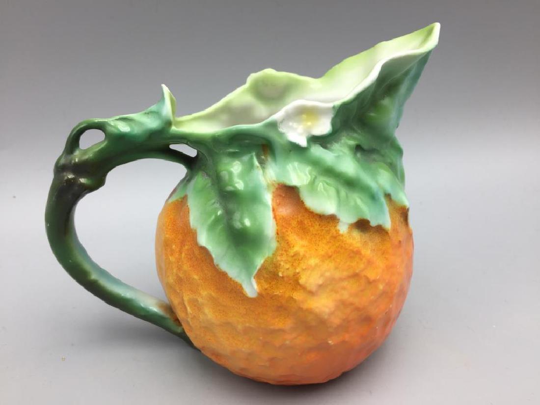 3 Orange pitchers Royal Bayreuth - 7