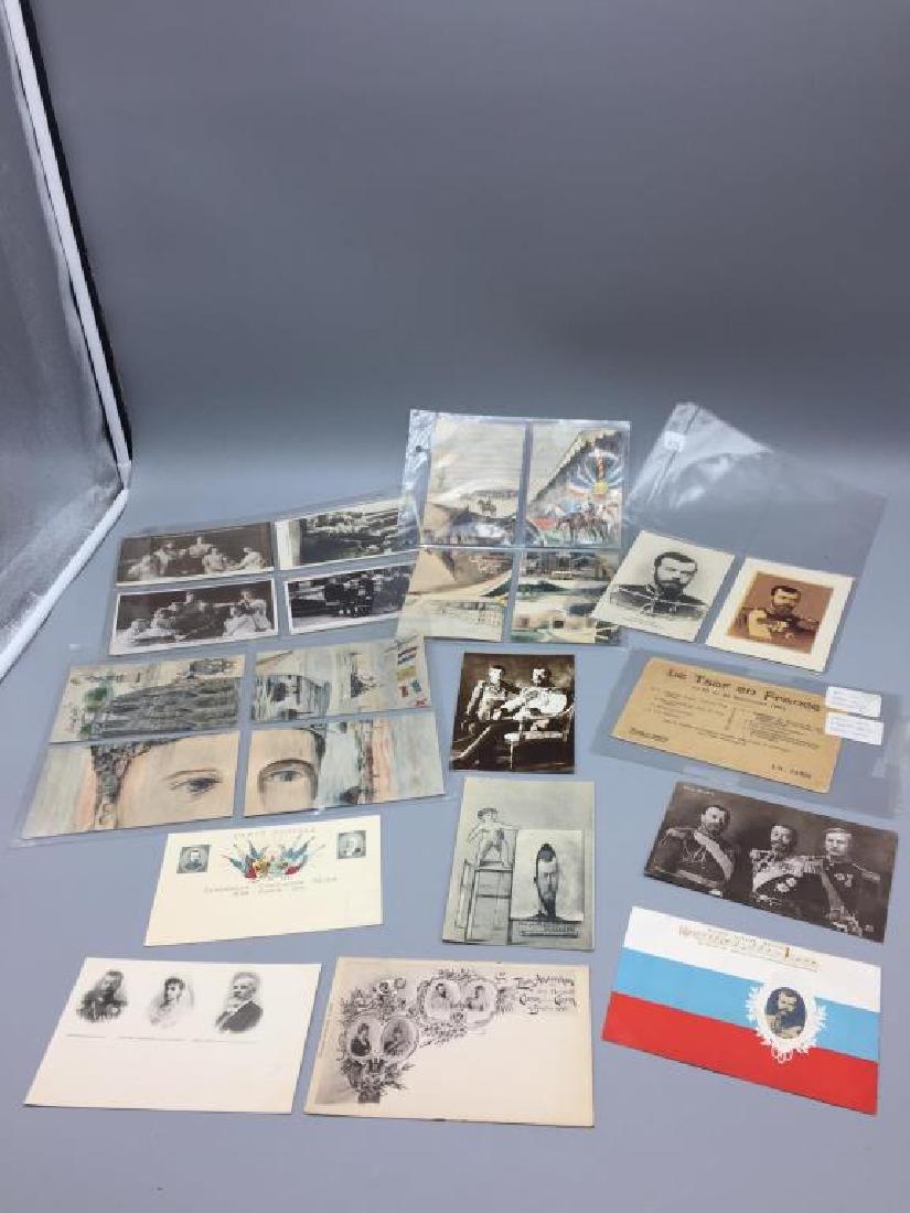Tsar Nichols II French postcards