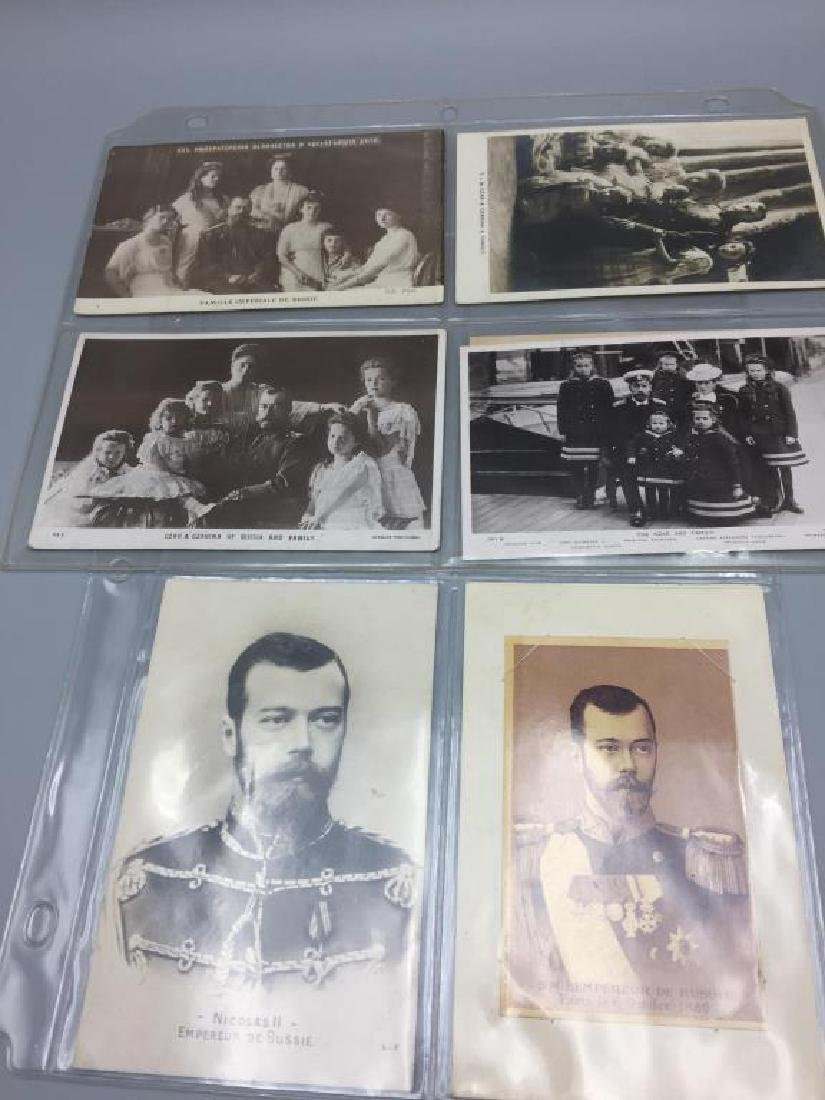 Tsar Nichols II French postcards - 2