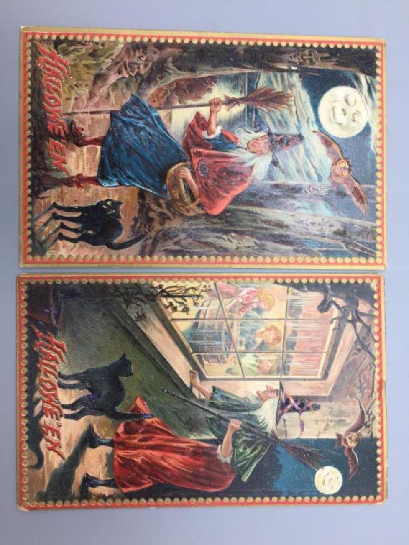 Raphael Tucks Halloween postcard; - 10