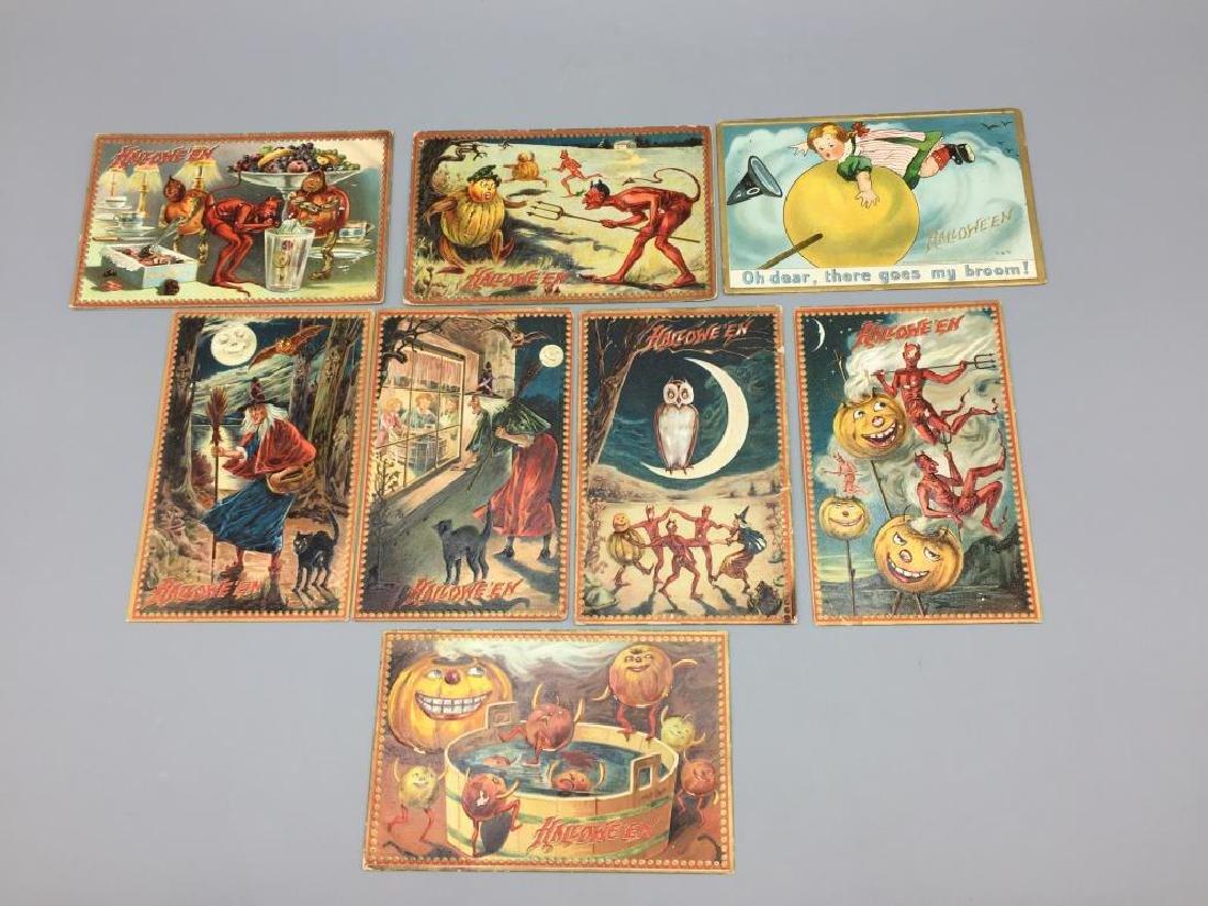 Raphael Tucks Halloween postcard;