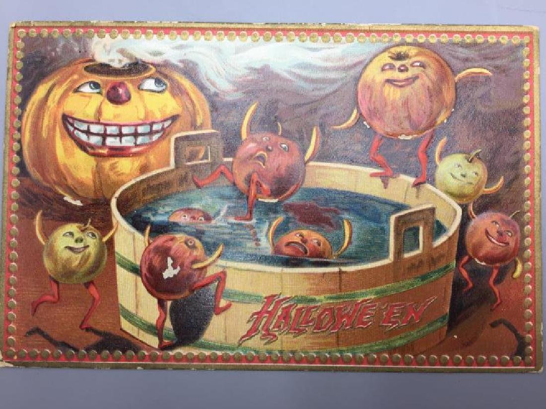 Raphael Tucks Halloween postcard; - 2