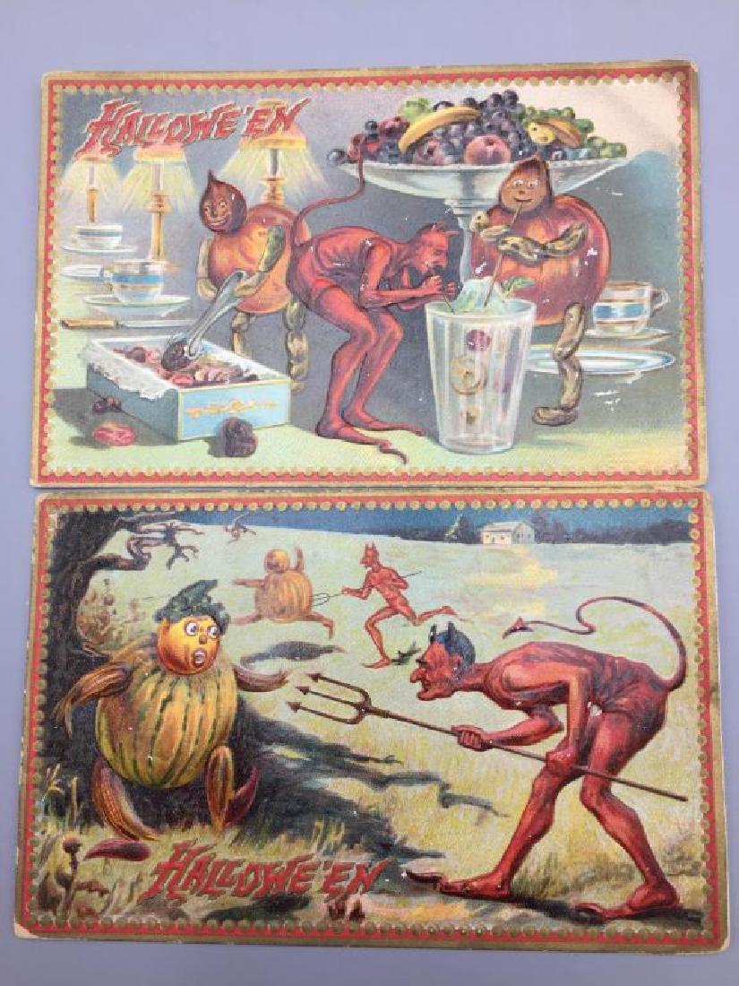 Raphael Tucks Halloween postcard; - 6