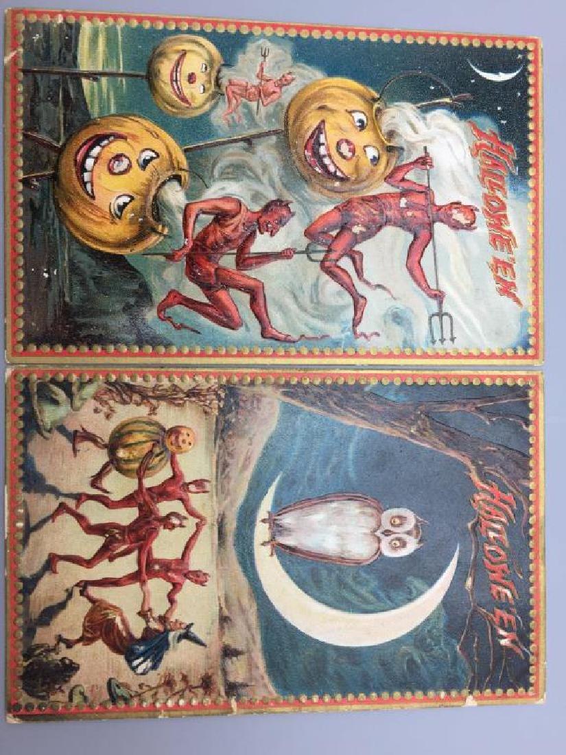 Raphael Tucks Halloween postcard; - 8
