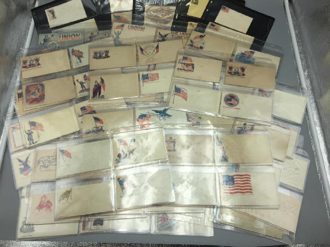 150 Civil War Patriotic envelopes