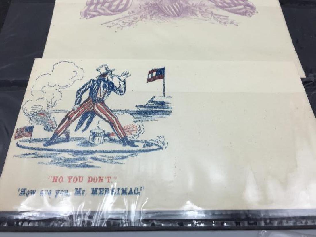 150 Civil War Patriotic envelopes - 3