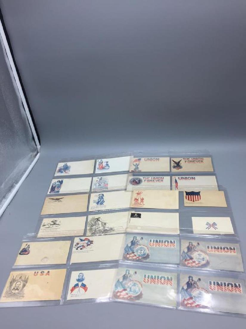150 Civil War Patriotic envelopes - 4
