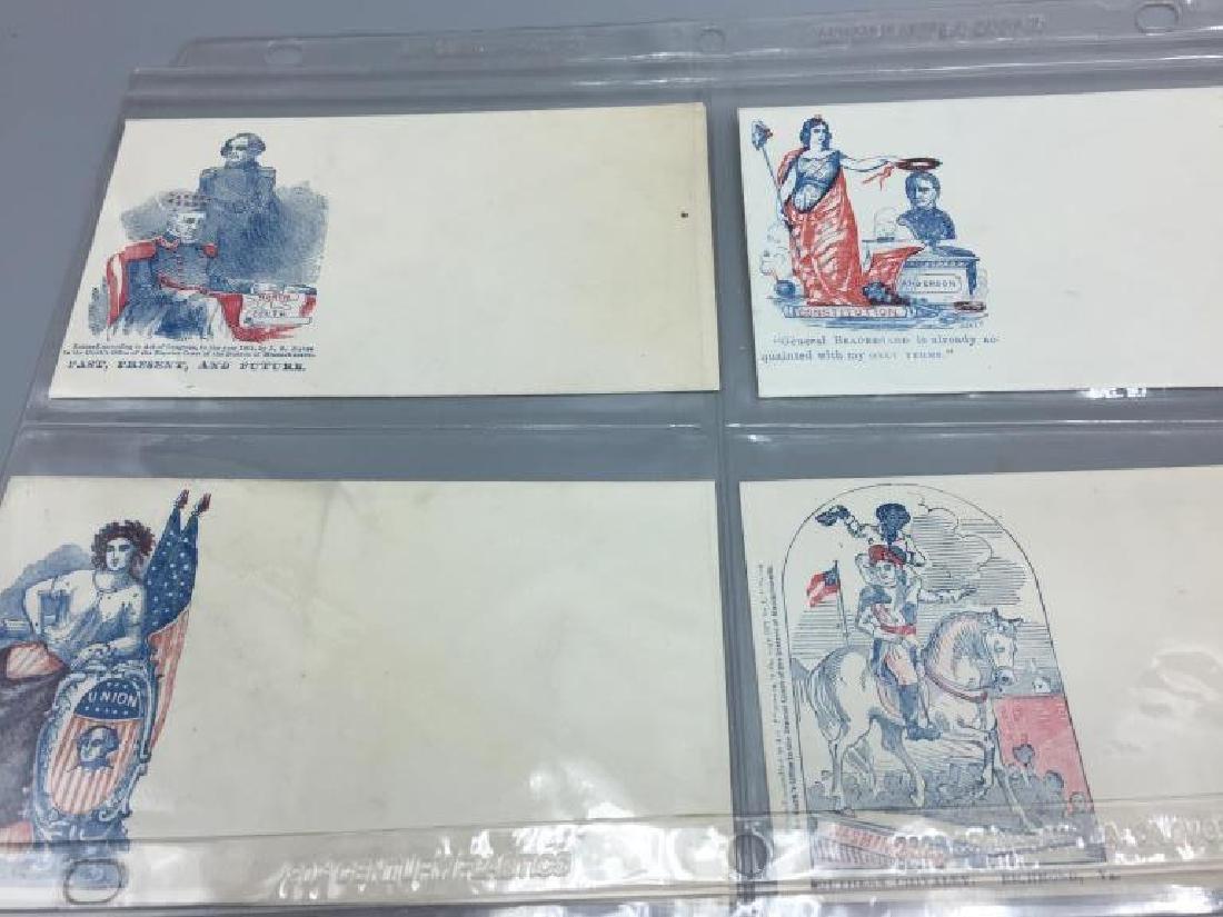 150 Civil War Patriotic envelopes - 5