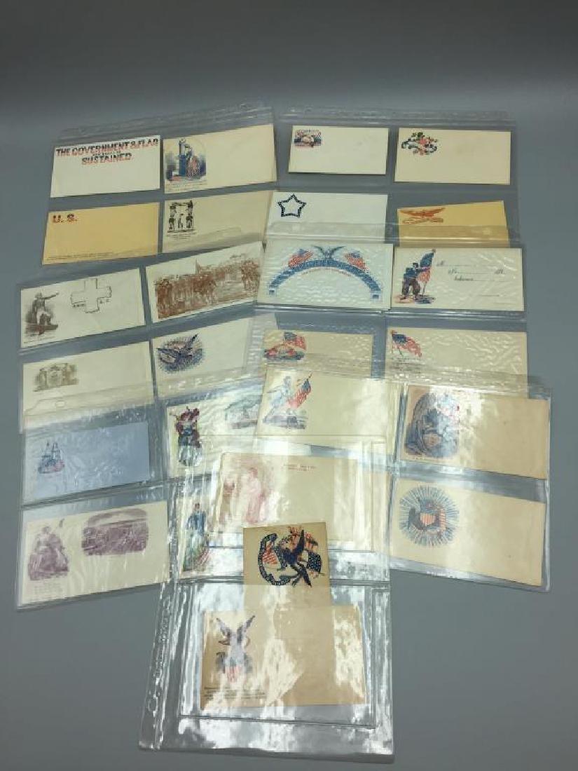 150 Civil War Patriotic envelopes - 6