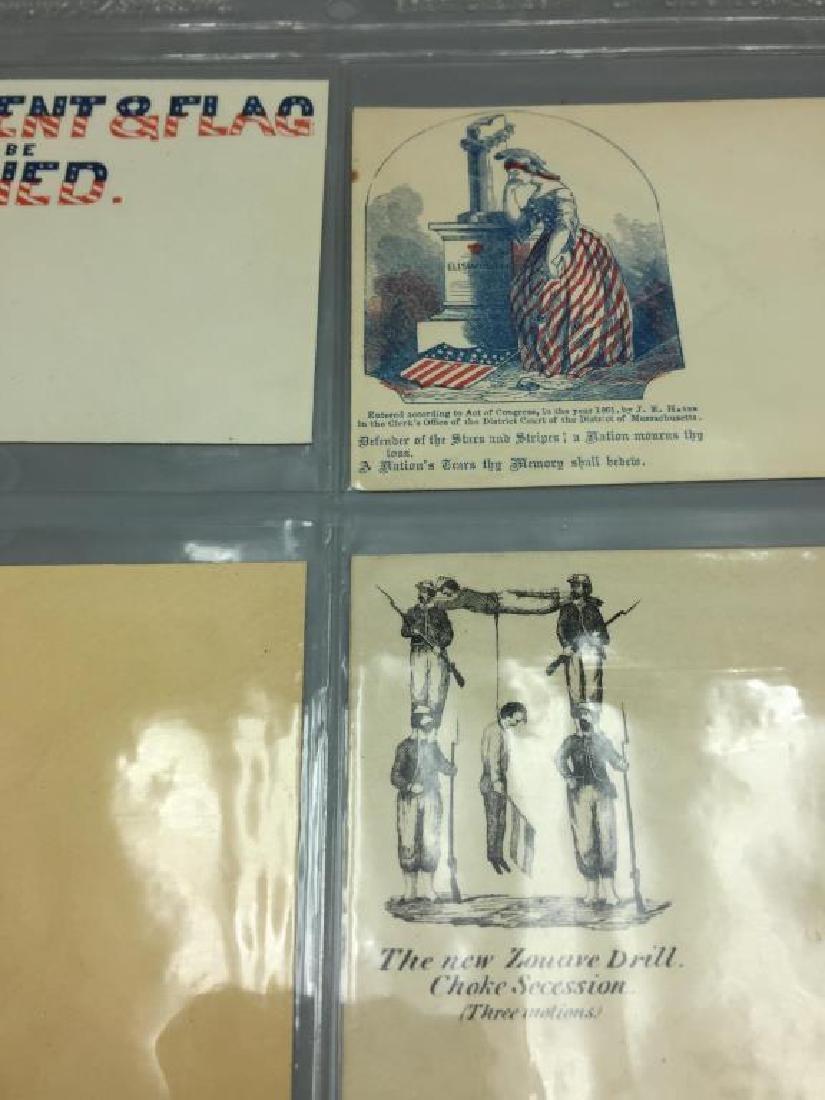 150 Civil War Patriotic envelopes - 7