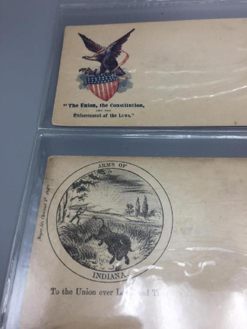 140 Civil War patriotic envelopes - 4