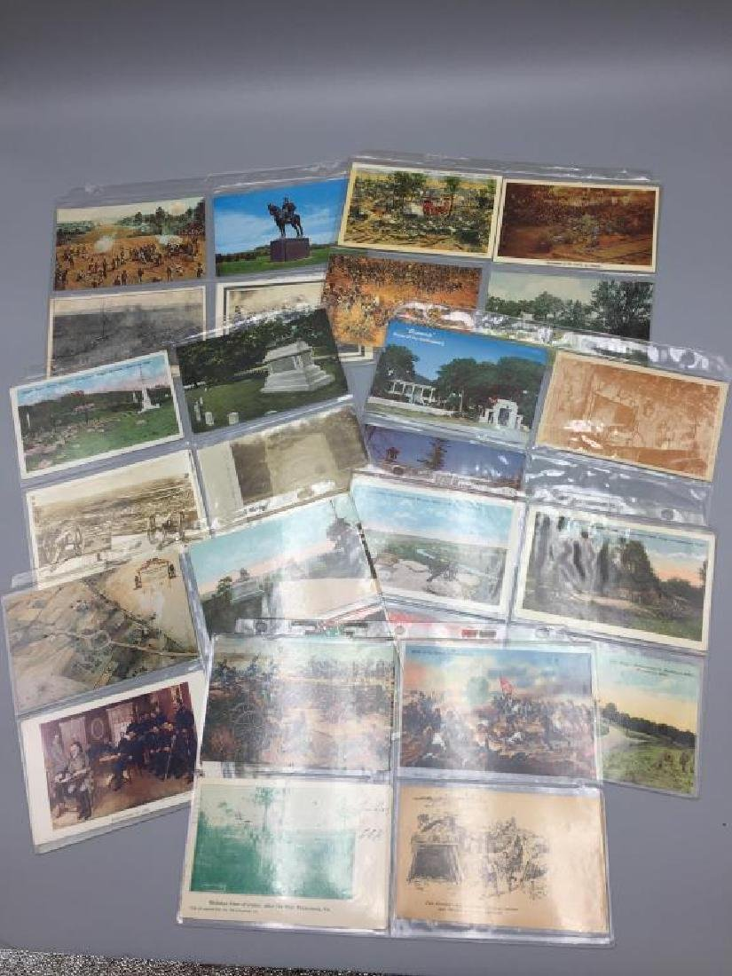 150 plus Civil War post card lot - 5