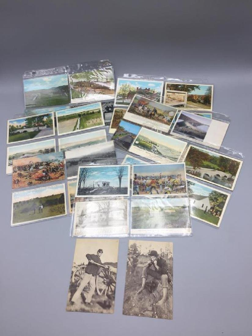 150 plus Civil War post card lot - 8