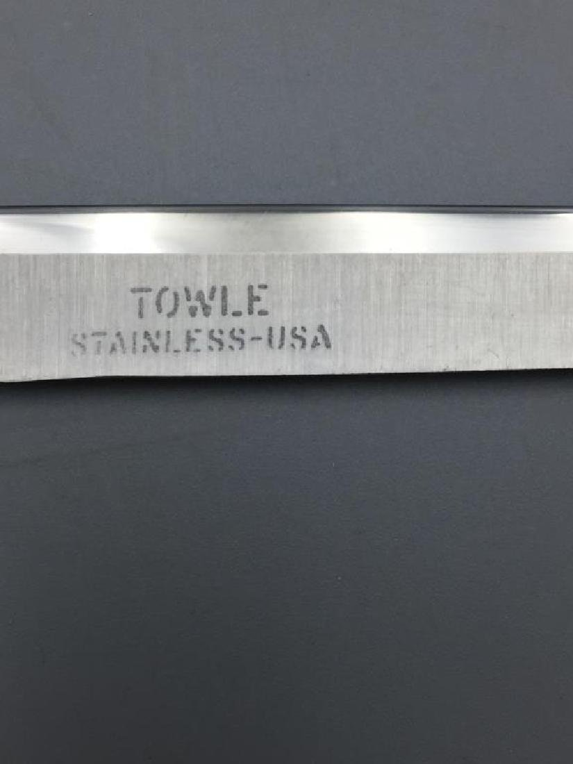 2 Towle stainless cutlery sets - 3