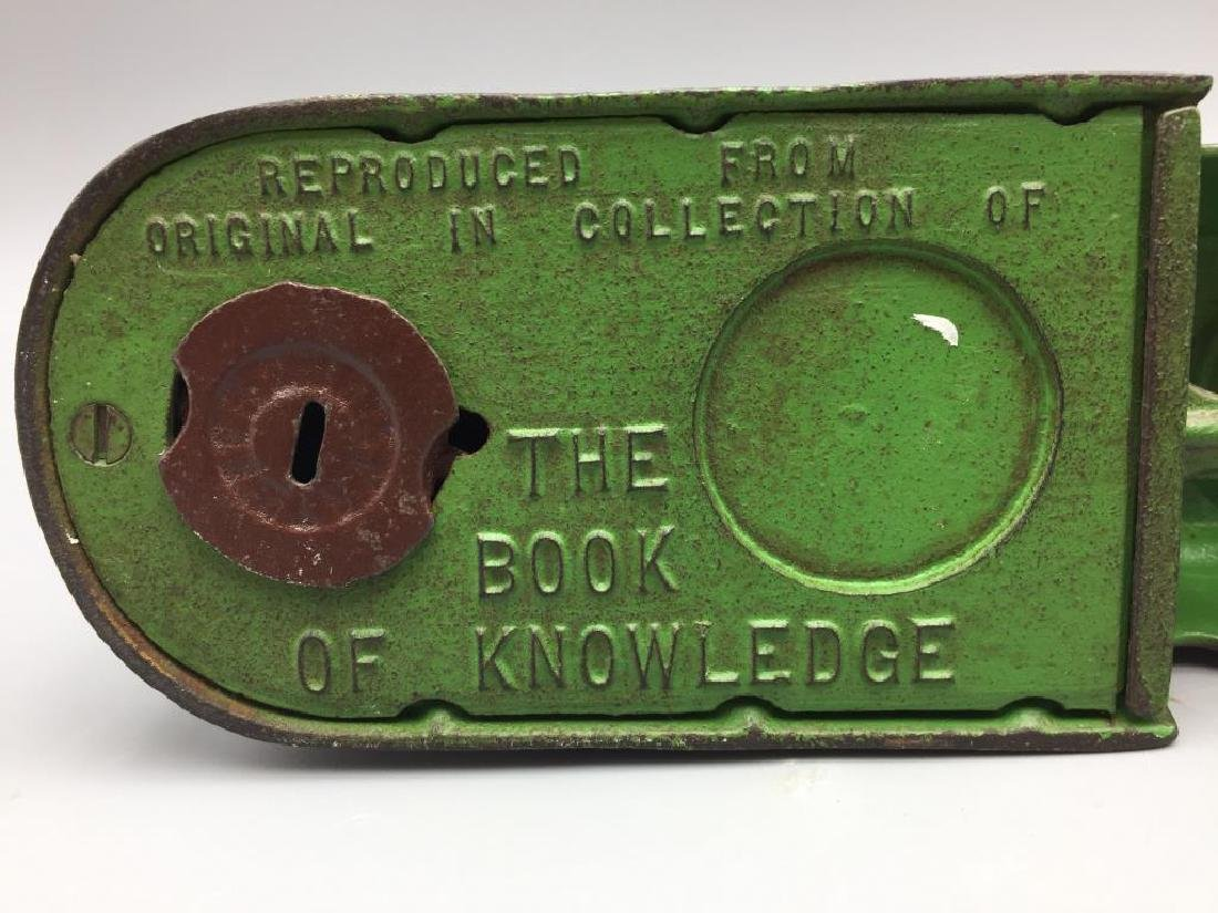 Book of Knowledge mechnical bank - 4