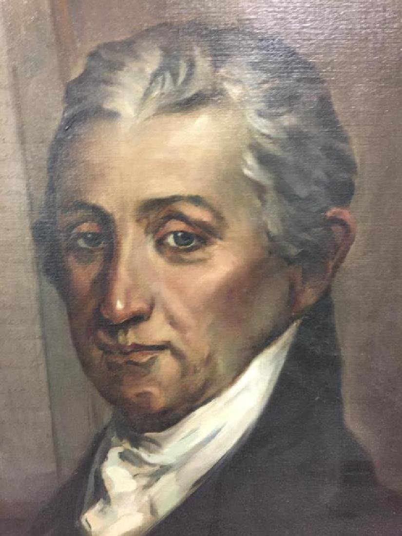 James Monroe portrait painting - 2