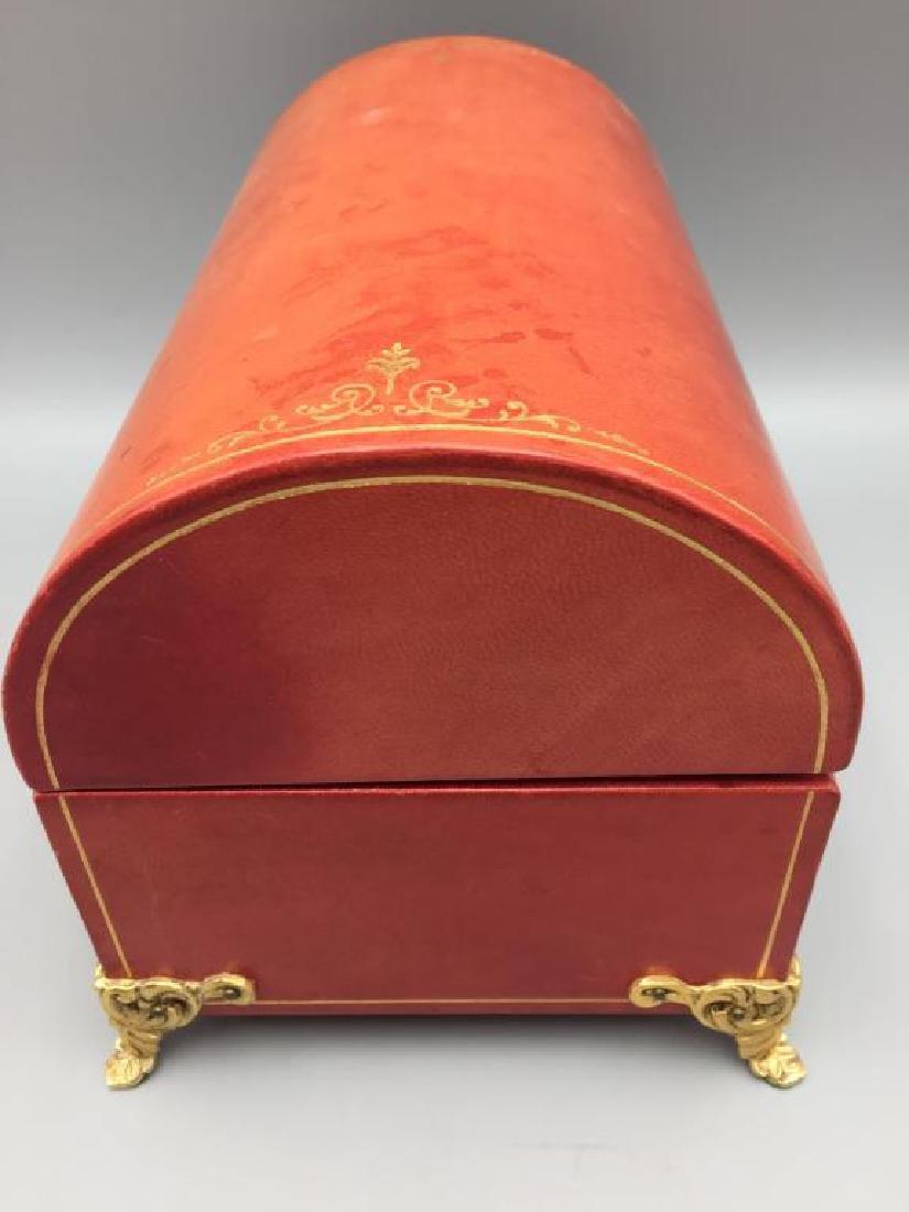 Leather jewelry box - 4