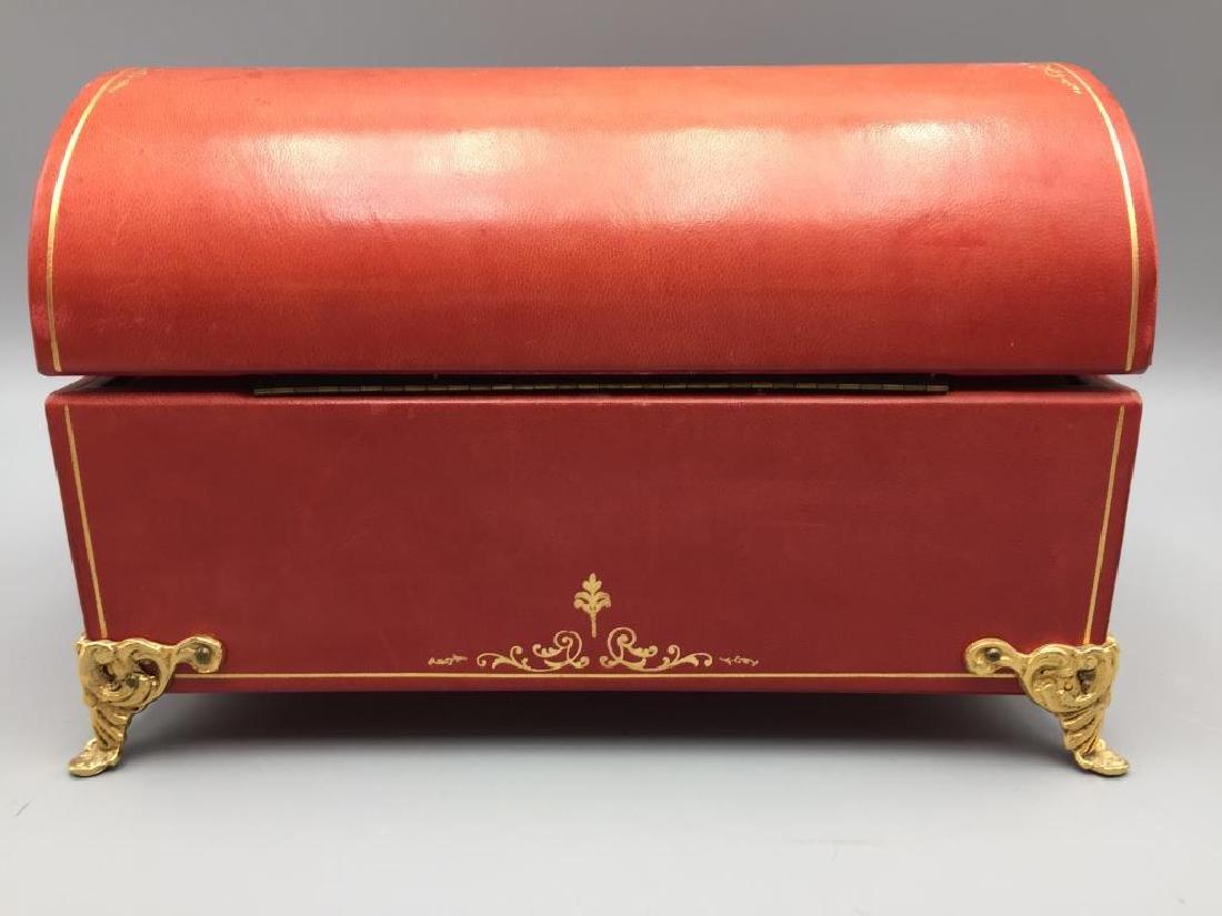Leather jewelry box - 5