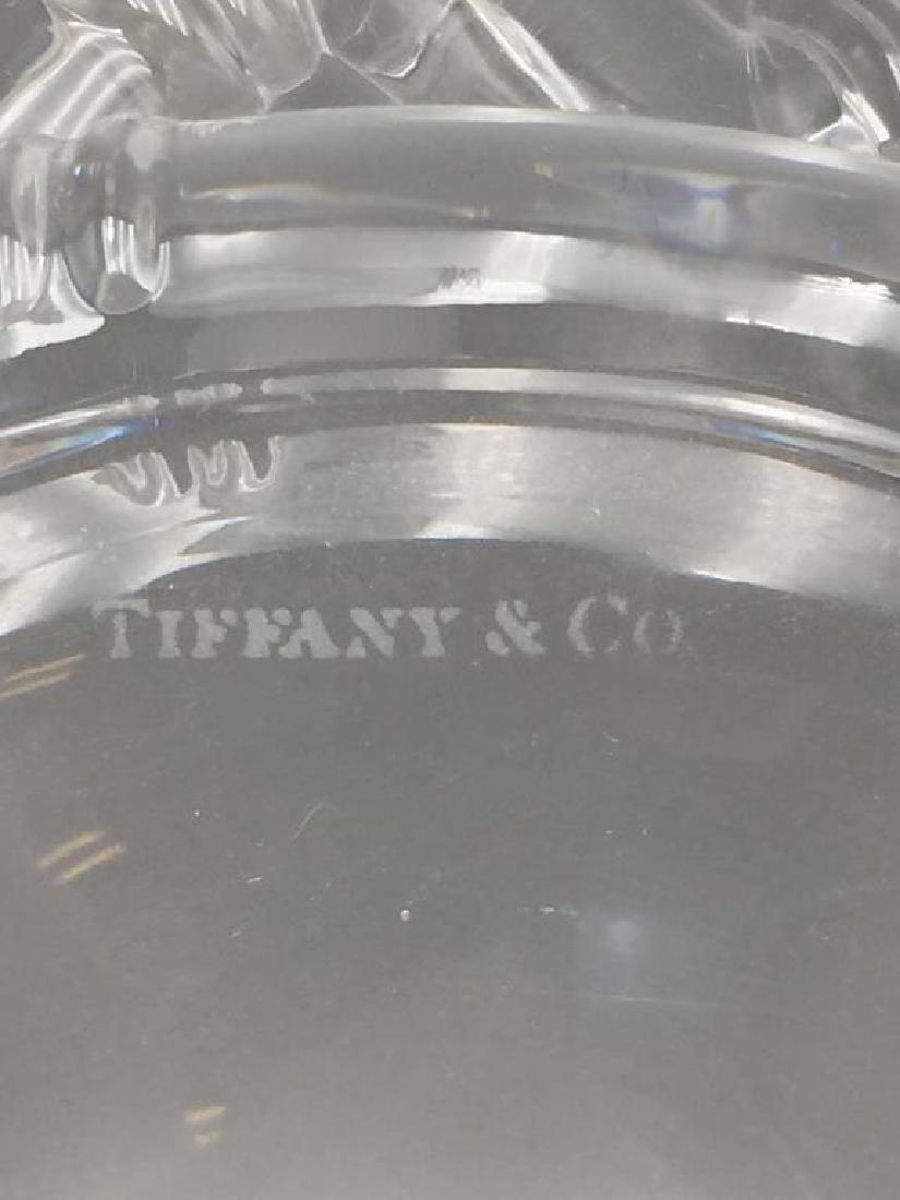 Tiffany & Co. crystal Bowl - 4