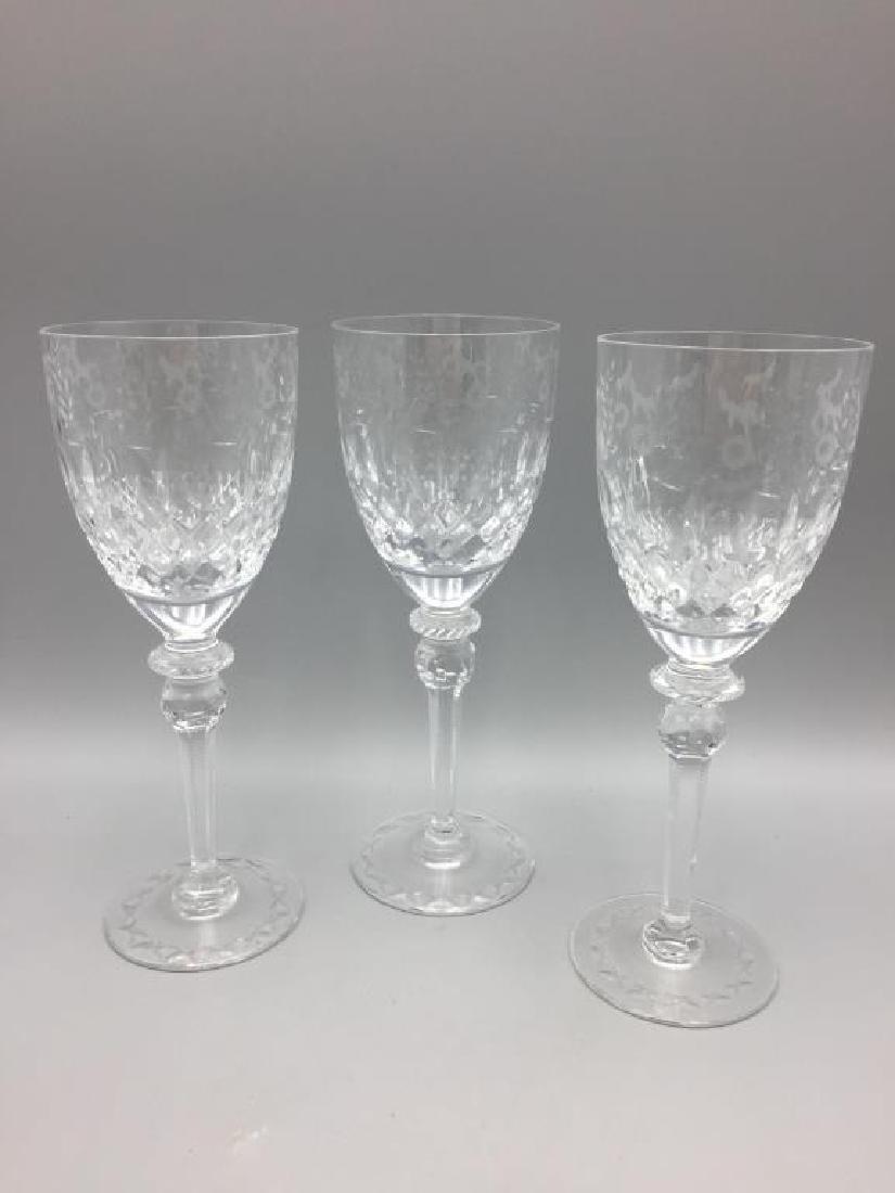 8 Rogaska wine glasses - 2