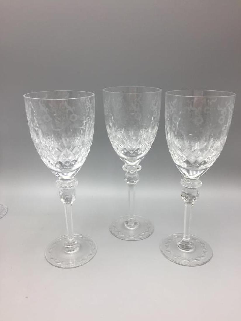 8 Rogaska wine glasses - 4
