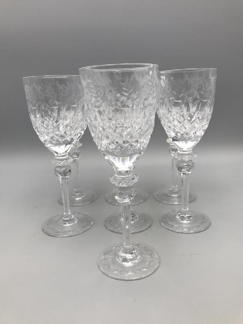 7 Rogaska wine glasses - 2