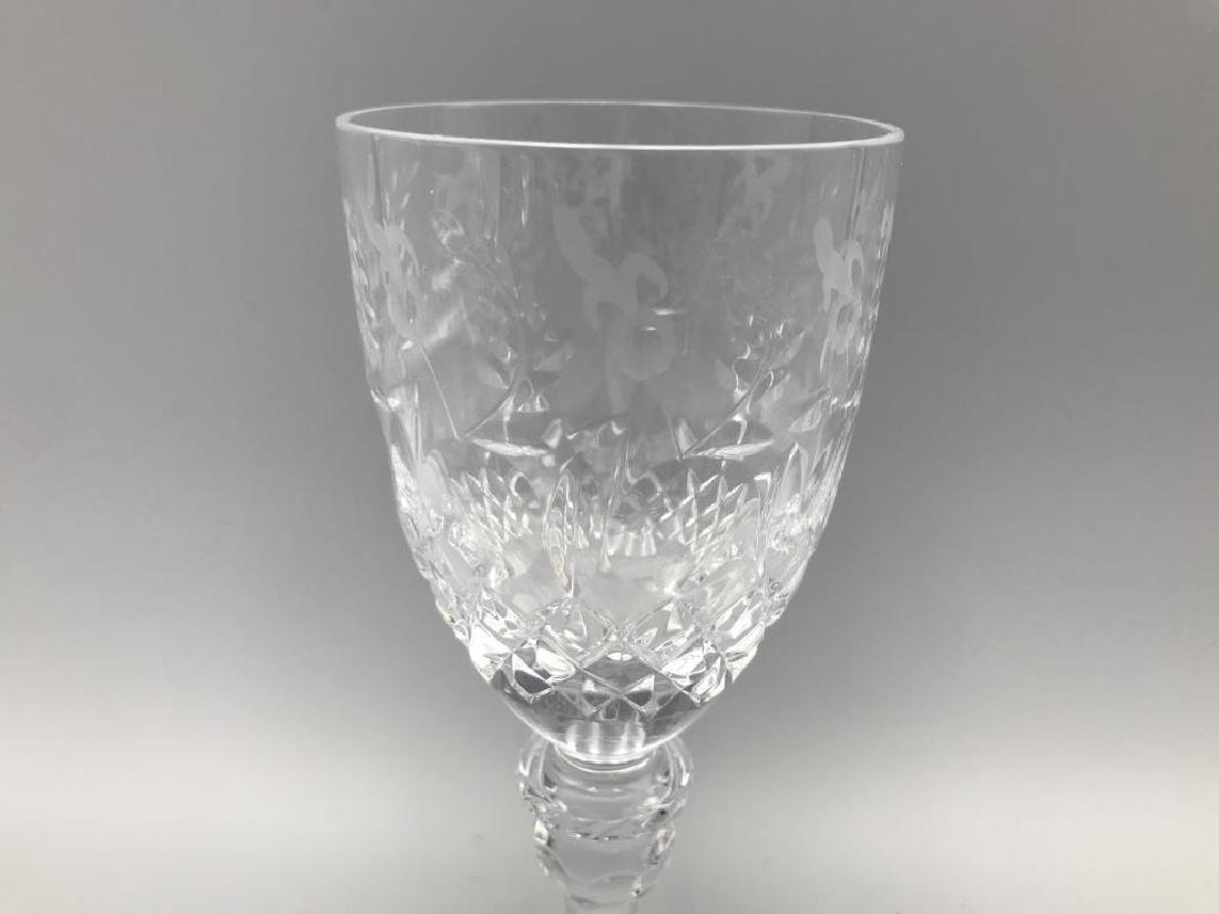 7 Rogaska wine glasses - 3