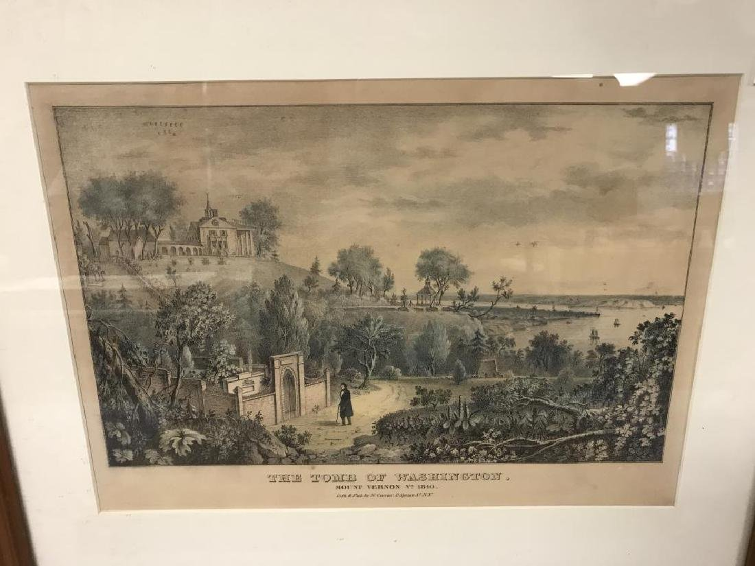 2 Currier & Ives prints - 4