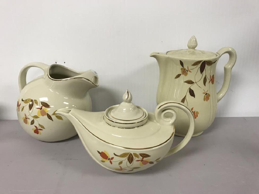 Halls pottery lot