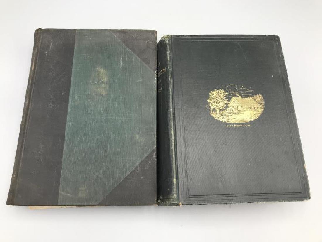 Lot of 2 books;