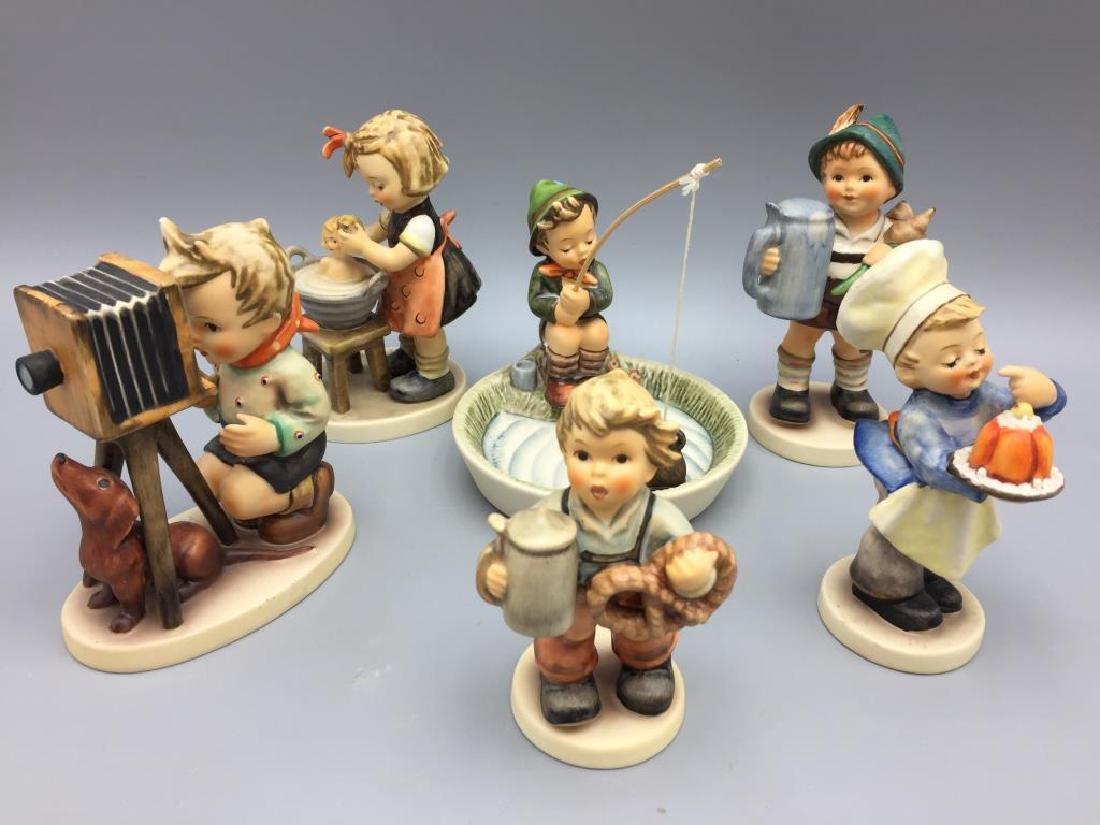 Lot of six Hummel figurines