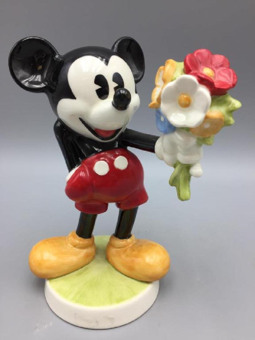Mini and Mickey Mouse porcelain Goebel figurines - 2