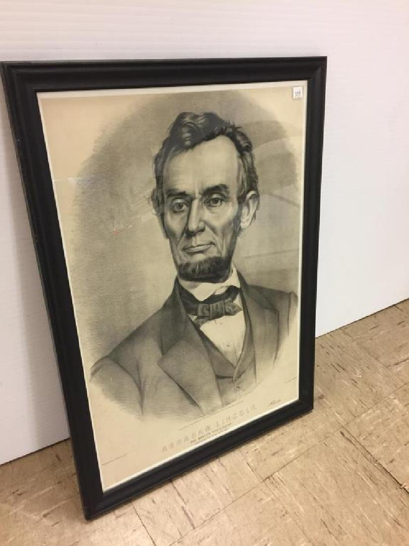 Abraham Lincoln by Currier and Ives