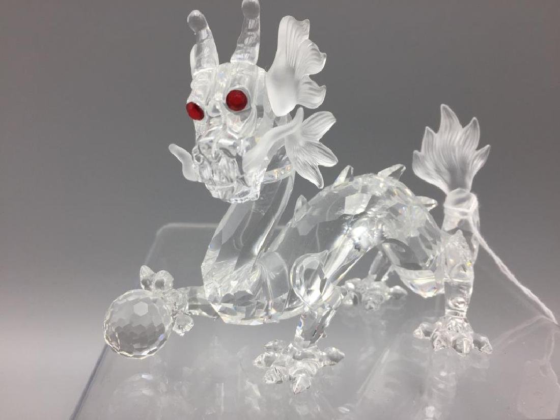Swarovski dragon; - 2